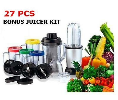New Magic Ezi Blender 27Pcs Bullet Blender With Juicer Kit