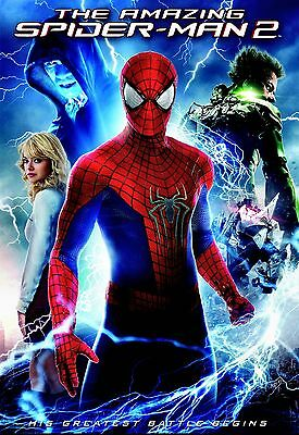 The Amazing Spider-Man 2/ Emma Stone, Jamie Foxx, Chris Cooper// USED DVD