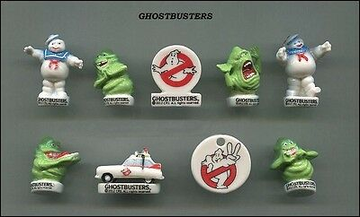 serie complete de feves GHOSTBUSTER 2014