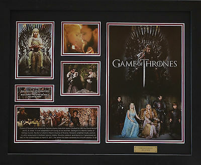 Game of Thrones Framed Memorabilia Limited Edition (b)