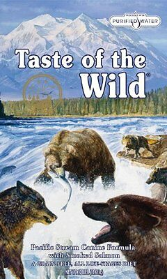 Taste of the Wild Dry Dog Food 074198609604 Salmon Made with real smoked salmon
