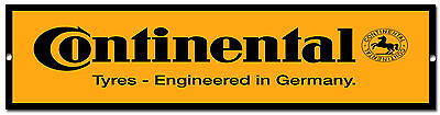 Continental Tyres Metal Sign,retro,garage Metal Sign,workshop Sign.