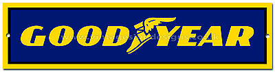 Goodyear Tyres Metal Sign,retro,garage Metal Sign,workshop Sign.