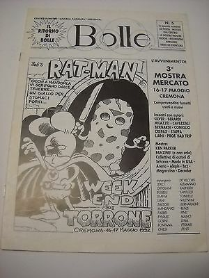 DYLAN DOG HORROR FEST su BOLLE con RAT-MAN NATHAN NEVER Leo Ortolani COVER 1992