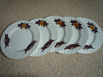 Rare Royal Albert Macdonald McDonald Side Plates x 5