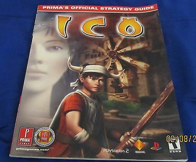 PS2 - Ico ~ Brand New ~ Prima's Official Strategy Guide ~