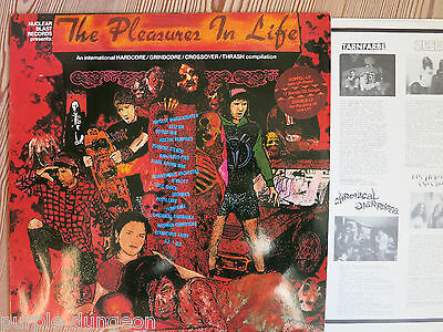 THE PLEASURES IN LIFE - 3-LPs  Pestilence - Atrocity - PUNGENT STENCH triple LPs