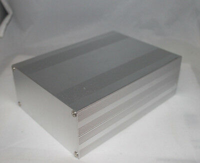 Silver Aluminum Project Box Enclosure Case Electronic DIY 203x144x68mm US Stock