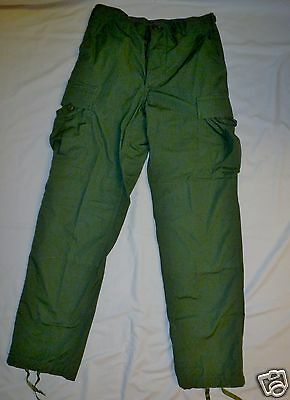 Military OD Green Summer Rip Stop BDU Cargo Pants Army X-Small Short