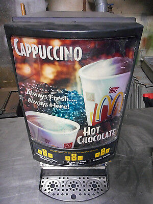 3 Flavor Cappuccino Dispenser, Counter Top, Automatic, Crathco, Immaculate, 120v