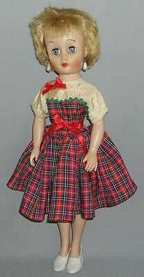 """Debutante 14"""" Doll by Eegee or Standard Doll Co - ORIGINAL FASHION OUTFIT"""