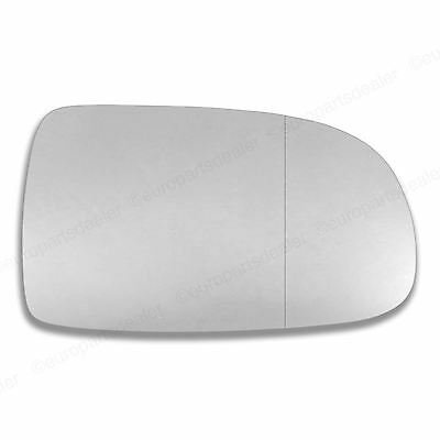 Right Driver Side WIDE ANGLE WING MIRROR GLASS Vauxhall Corsa C 2001-06 Stick On