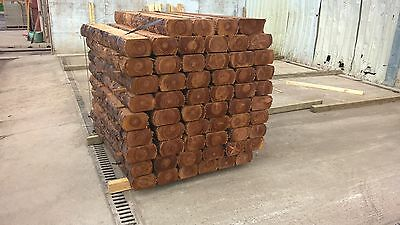 60 x 1.2M Garden Sleepers, Rustic, Reclaimed, Timber, Treated, Cheap x 60