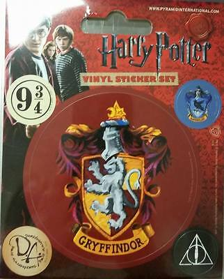 Official Licensed Harry Potter Gryffindor Vinyl Stickers