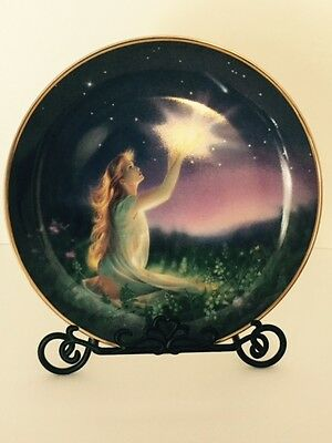 Crystal Power Jeane Dixon Franklin Mint Heirloom Limited Edition Fairy Plate