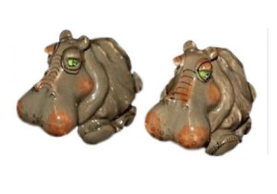 Collectable Novelty Salt and Pepper Set HIPPO Kitchen FREEPOST Hippopotamus New