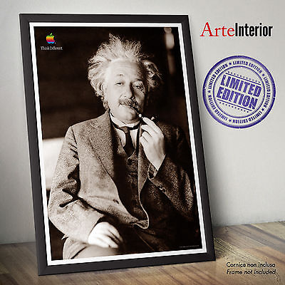 Poster Apple Macintosh - Think Different - ALBERT EINSTEIN - Stampa FINE ART HR