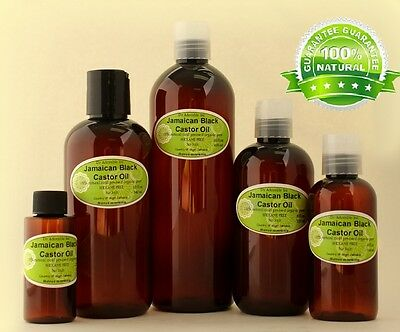 Jamaican Black Castor Oil Natural Pure Organic Healthy Hair Care by Dr.Adorable