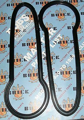1942 46 47 48 BUICK NEW PAIR OF TAILIGHT TO BODY GASKETS  + OUR PARTS CATALOG