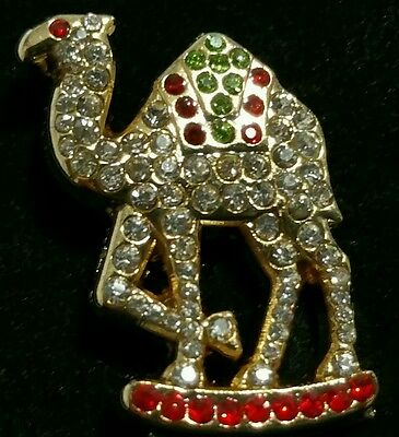 New Shriners Camel Lapel Pin with Jewels