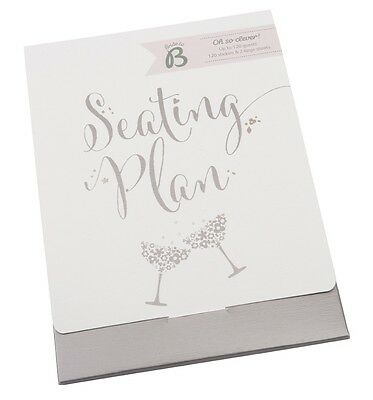 Wedding Party Seating Planner Busy B Ktwo New for 2015