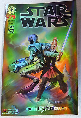 STAR WARS Prelude To Rebellion #6 Holofoil variant cover NM+