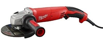 Milwaukee 6124-30 13 Amp 5 in Small Angle Grinder Trigger Grip Lock-On