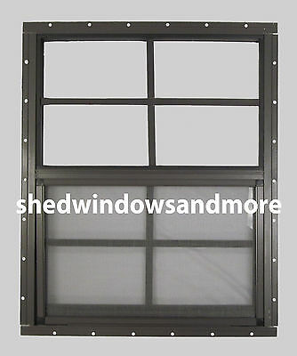 24 x 36 Shed Window SAFETY GLASS Barn Garage Storage Shed Tree House Playhouse