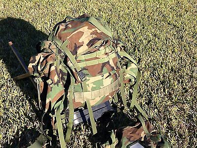 US Military MOLLE II LARGE Rifleman Backpack Gi ridged frame