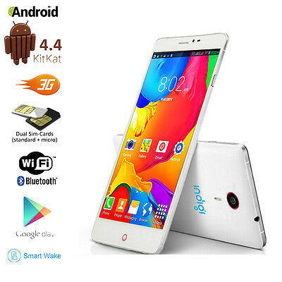 """5.5"""" QHD Capacitive Android 4.4 DualSim 3G Support Smart Cell Phone GSM UNLOCKED"""