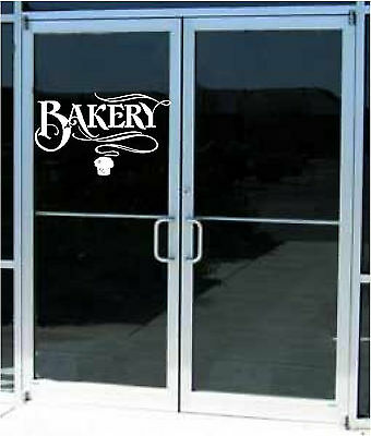 Bakery Business Store Sticker Restaurant Wall Decor Sticker