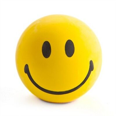 Smiley Face Stress Ball Happy Anti-Stress Reliever Fun Desk Office Toy Gift