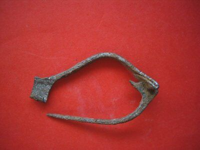 Roman-Celtic Iron Fibula .