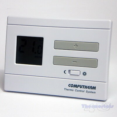Room Thermostat Digital Stat Non Programmable Volt Free Contact- COMPUTHERM Q3