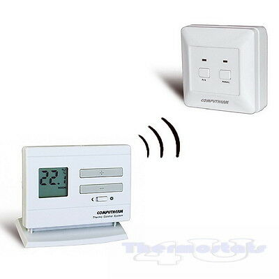 Wireless Thermostat Quality Room Stat Non Programmable - Computherm Q3RF
