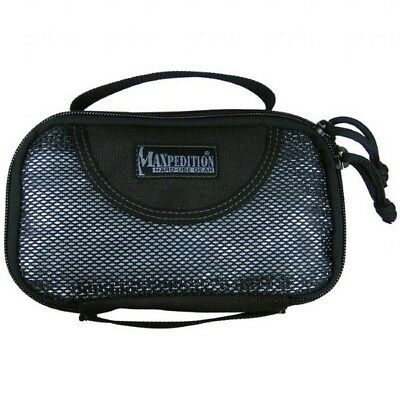 Maxpedition Cuboid SMALL Size Travel & Every Day Organizer Case - BLACK