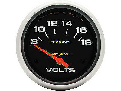 """Auto Meter 5492 Pro-Comp Voltmeter 2-5/8"""" electrical"""
