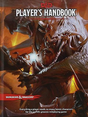 D&D Player's Handbook 5th Edition 5E - New Unopened - Free Shipping