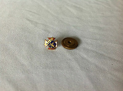 Vintage Knights Of Columbus Screw Back Pin