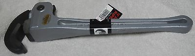 "Ridgid 14"" Aluminum RapidGrip Pipe Wrench 12693 - NEW - LIFETIME WARRANTY - USA"