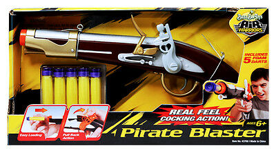 BuzzBee Pirate's Flintlock Dartblaster (Piratenpistole) + 5 BuzzBee Darts