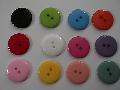 25 50 100 Large 23mm Clothes Sewing Buttons Scrapbook Craft - Buy 3 Get 1 FREE
