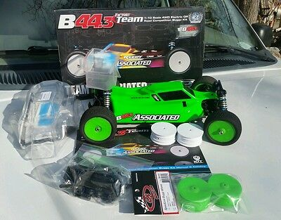 Team Associated Factory Team b44.3 4wd Buggy Assembled Kit used