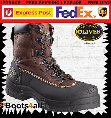 Oliver AT's Mining Work Boots Safety Steel Toe 30 Day Comfort Guarantee 65390