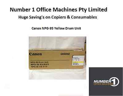 Genuine Canon NPG-35 Yellow Drum Unit (Canon IRC 2550,2880,3080,3380,3580)