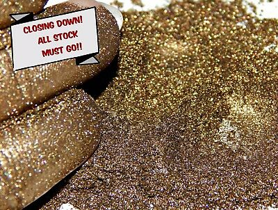 Pearlescent Mineral Mica Powder Pigment 10g - Flash Brown CLOSING DOWN