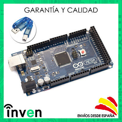 Arduino MEGA 2560 R3 Compatible REV3 ATmega2560 16U2 + Cable USB