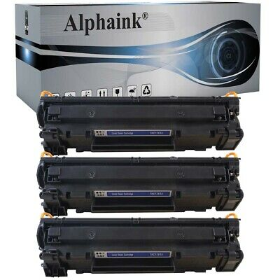 3 Toner Per Hp Cf283A Mfp M125Nw M128Fn M127Fp M128Fp M127Fw M225Dn M126Nw