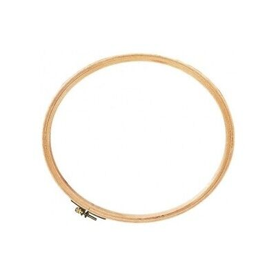 DMC Wooden Embroidery Hoop 10 Inches - MK0028