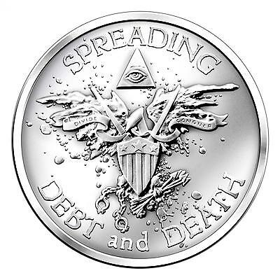 2014 Silver Shield Warbird 2 oz .999 Silver Round USA Made American Bullion Coin